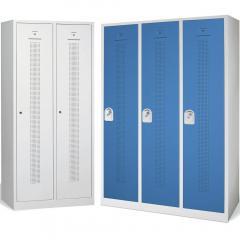 Garderoben-Stahlspinde SP1, Abteilbreite 400 mm