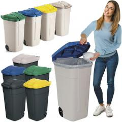 Rubbermaid Abfallcontainer, fahrbar 100 Liter