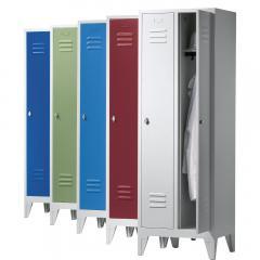 Garderoben-Stahlspinde CLASSIC mit Füßen