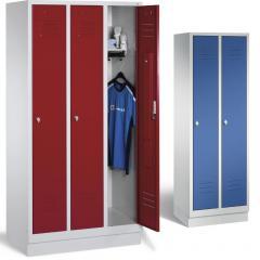 Garderoben-Stahlspinde CLASSIC mit Sockel