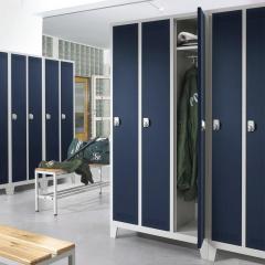 Garderoben-Stahlspinde SP PROFI SYSTEM mit Füßen