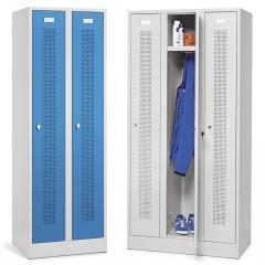 Garderoben-Stahlspinde SYSTEM SP1 mit Sockel