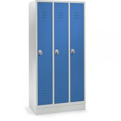Garderoben-Stahlspinde SYSTEM SP2 mit Sockel