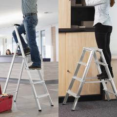 Profi Aluminium Stufen-Stehleitern