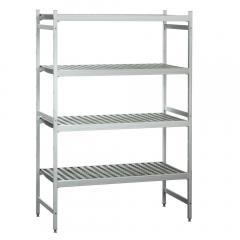 Aluminium-Steckregale