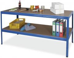 Arbeits- und Packtisch, Stecksystem