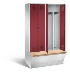 Garderobenspinde EVOLO mit Aufbewahrungsbox