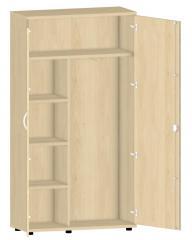 Garderobenschrank PROFI MODUL Buchedekor | 1000 | 1890 mm (5 OH)