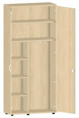 Garderobenschrank PROFI MODUL Buchedekor | 1000 | 2250 mm (6 OH)