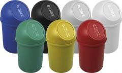 Push-Abfallbehälter Basic aus Kunststoff, 6 bis 45 Liter