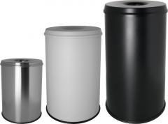 Sicherheitspapierkörbe mit Löschkopf, 15 bis 50 Liter