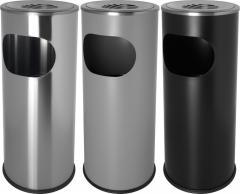 Standascher mit Abfallbehälter, 3 Farben