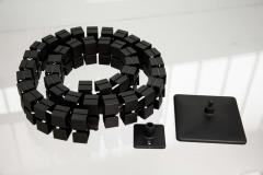 Kabelkette schwarz