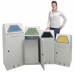 Wertstoffsammler Serie Flexx, 45 bis 120 Liter