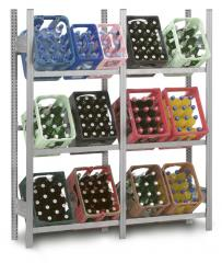 Getränkekistenregale Stecksystem ST 4000