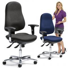 Bürodrehstuhl COMFORT I DELUXE PLUS - mit Armlehnen