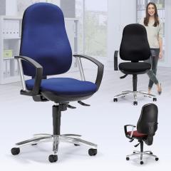 Bürodrehstuhl COMFORT I DELUXE mit Armlehnen