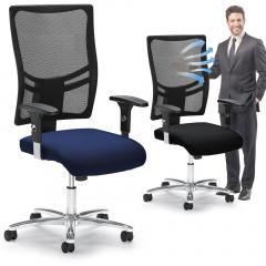 Bürodrehstuhl COMFORT R NET BIG DELUXE mit Armlehnen