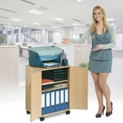 Drucker- / Bürowagen - Platz für alles Notwendige