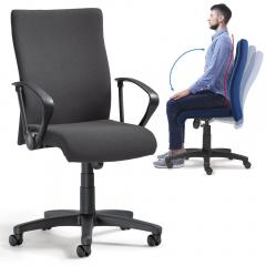 Bürodrehstuhl DV 10 - extra hohe und breite Rückenlehne