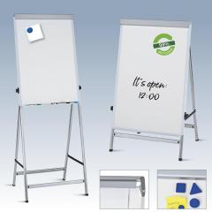 Flipchart FUNKTIONELL, verstellbar 1185-1950 mm