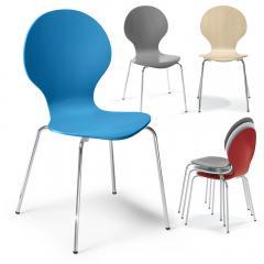 Besucherstuhl KEN - Farbenfrohe Sitzgelegenheiten