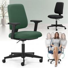 Bürodrehstuhl moveSIT DV - mit beweglichem Sitz