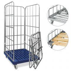 Rollbehälter Profi - Kunststoff- Stahl- oder Holzboden