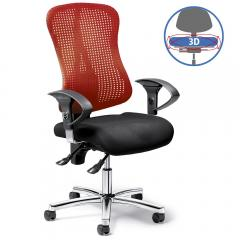 Bürodrehstuhl SITNESS 70 NET - bewegliche Sitzfläche