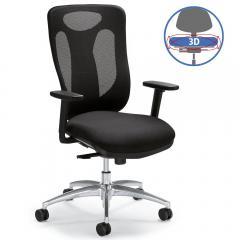 Bürodrehstuhl SITNESS 80 NET - bewegliche Sitzfläche