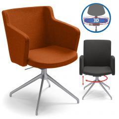 Konferenzstuhl SITNESS MEETING 1.0, beweglicher Sitz
