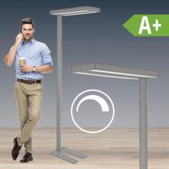LED Standleuchte Aluminium, Konstantlichtregelung