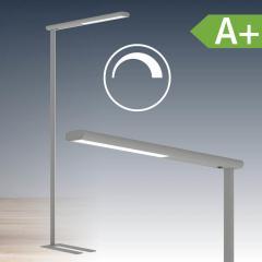 LED Standleuchte aus Aluminium, dimmbar