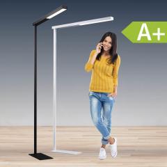 LED Aluminiumstehleuchte schwarz /weiss