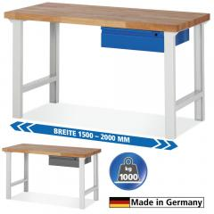 System Werkbänke mit 1 Schublade