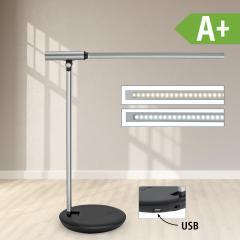 LED-Tischleuchte aus Aluminium, dimmbar