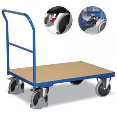 Schiebebügelwagen, inkl. TPE und Easy Stop (500 kg)