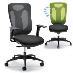 Bürodrehstuhl VENTURA ohne Armlehnen