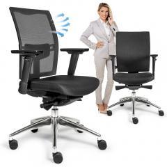 Bürodrehstuhl VERONA DELUXE mit Armlehnen