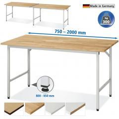Arbeitstische - VK 3060 höhenverstellbar 800-850, 300kg