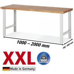 XXL-Werkbänke Grundeinheit