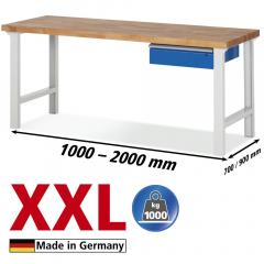 XXL-Werkbänke mit 1 Schublade