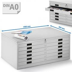 Zeichnungschrank, Materialschrank für Planablage DIN A0