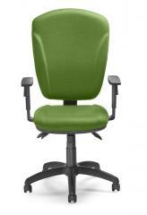Bürodrehstuhl QUINTO ohne Armlehnen Grün