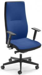 Bürodrehstuhl SIMO PRO inkl. Armlehnen, hohe Rückenlehne