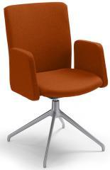 Konferenzstuhl Sittness Meeting 2.0 Orange   Aluminium