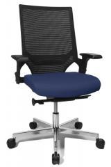 Bürodrehstuhl TERRES Blau