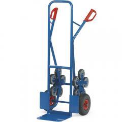 Treppenkarren Stahl 200 kg, mit 2 fünfarmigen