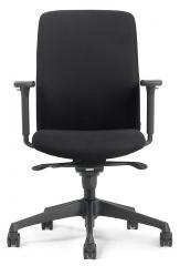 Bürodrehstuhl VIBO - extra großes Rückenpolster