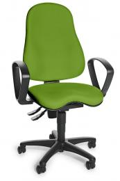 Bürodrehstuhl SITNESS 30 mit Armlehnen Grün